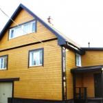 Достроен каркасный дом 145 м²