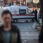 Рядом стурецкой школой при падении снаряда погибли два человека