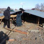 ВКунашакском районе каникулы начались нанеделю доэтого: ветер сорвал крышу школы
