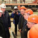 Беглов сказал трактор техникуму ипобывал вбрянском монастыре